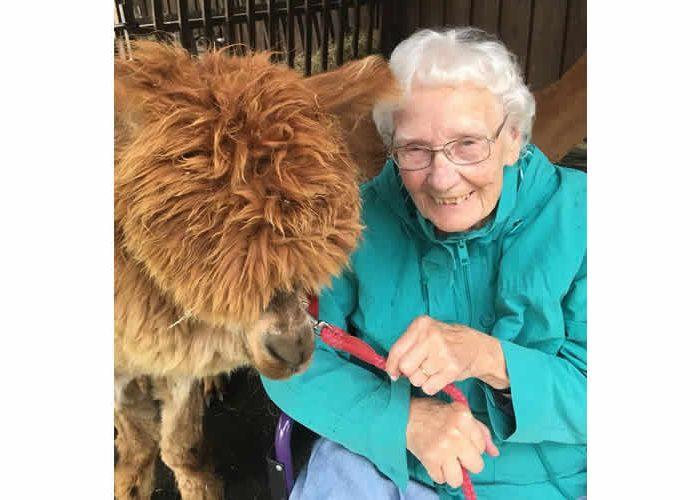 Lady-with-llama